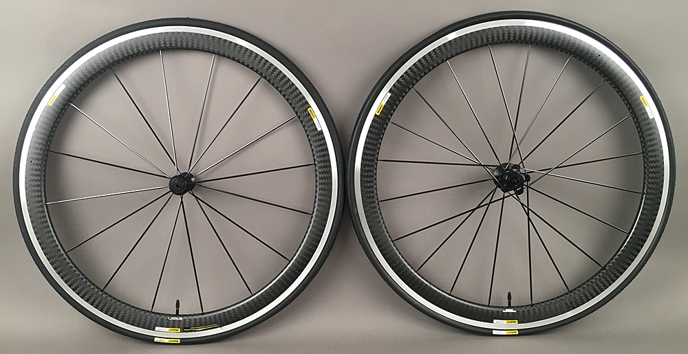 Mavic Cosmic Pro Carbon Clincher Road Bike Wheelset 16/20 Hole