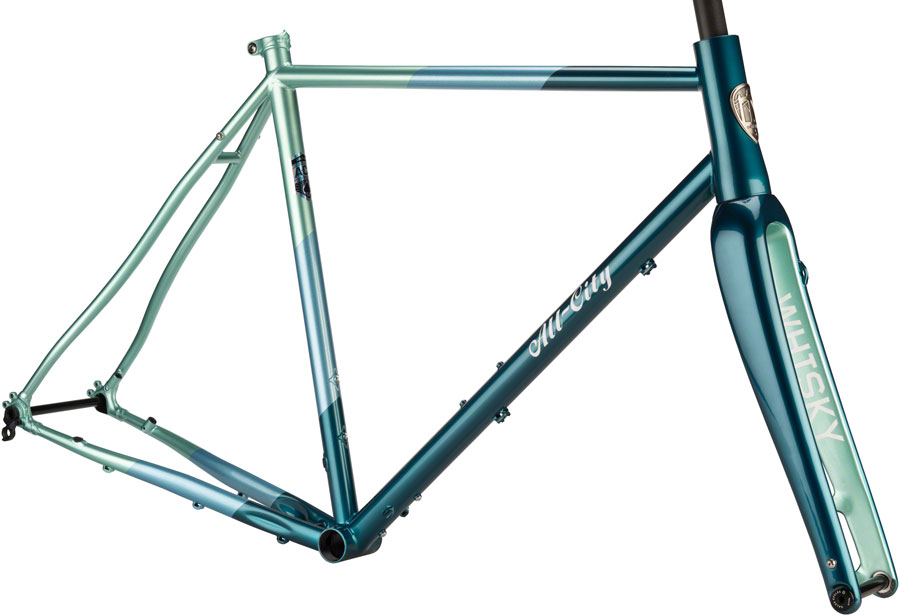 All-City Mr Cosmic Stallion Road Bike Steel Frame Carbon Fork 58