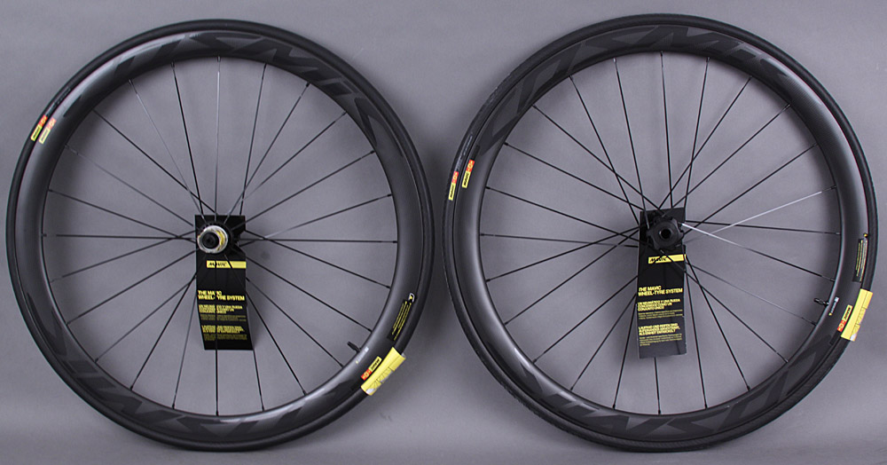 Mavic Cosmic Pro Carbon SL Disc Brake Road CX Tubular Wheelset