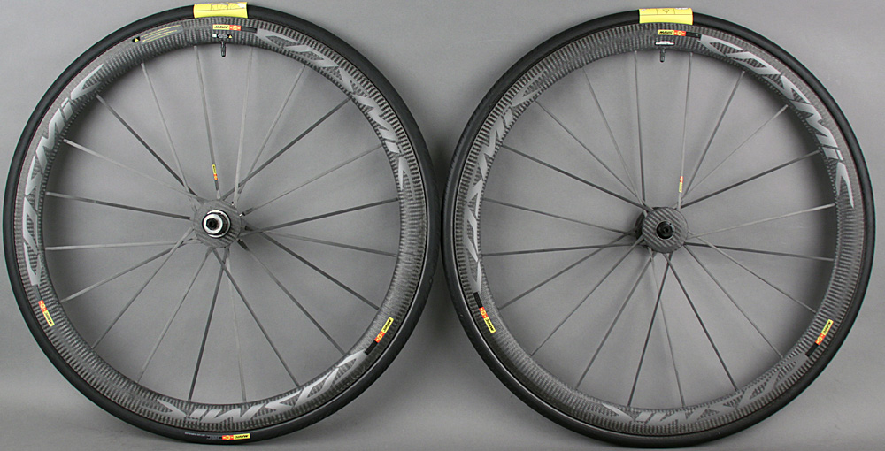 Mavic Cosmic Ultimate Carbon Tubular Wheelset 1250 grams