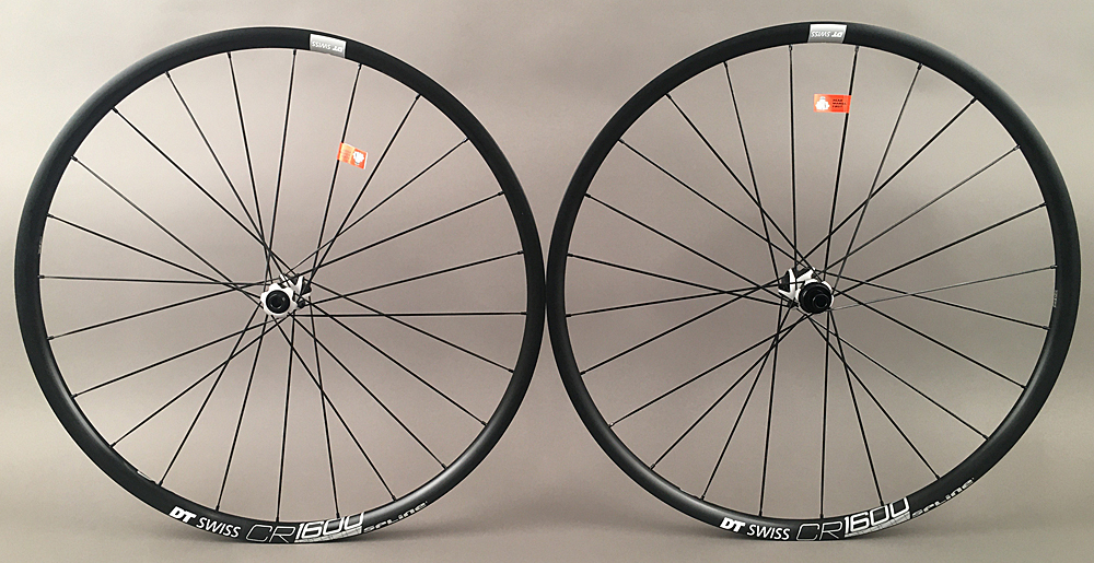 DT Swiss CR 1600 Road CX Gravel Disc Wheelset Convertible Hubs