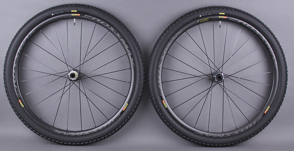 Mavic CrossMax Pro Carbon 29er Wheelset Thru axle & QR Demo