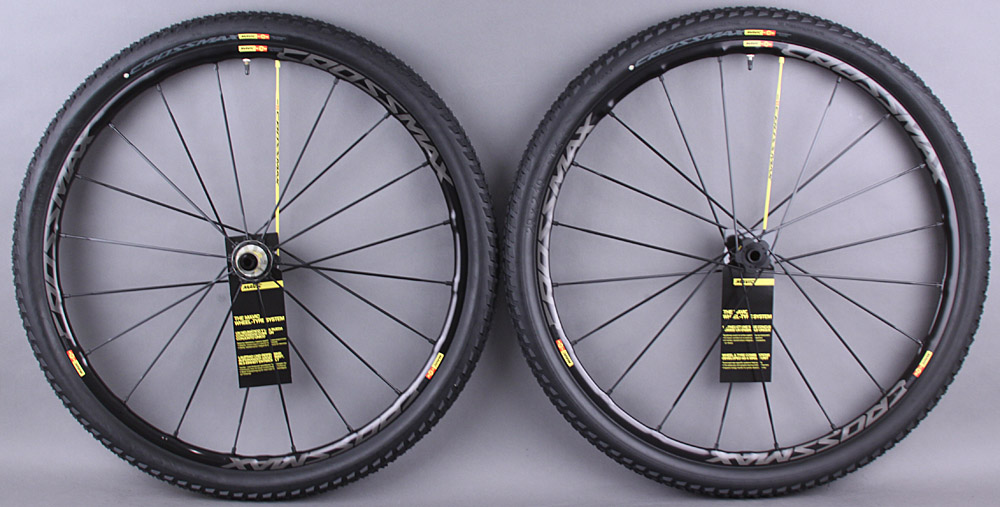 Mavic CrossMax SL SSC Pro 29er Wheelset Thru axle & QR