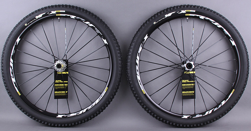 Mavic CrossMax XL Pro 29er Wheelset Thru axle & QR