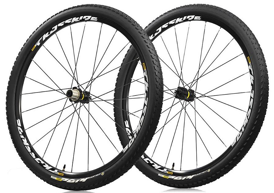 Mavic CrossRide UST Pulse 29er Wheelset Thru axle & QR