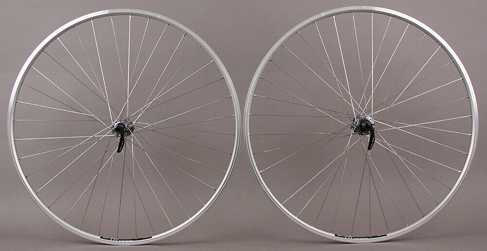 Mavic Open Elite Silver Rims Road Bike Wheelset 8 9 10 11 speed