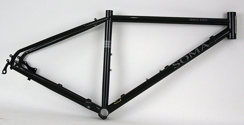 Soma Double Cross Steel Cyclocross Frame Black 42cm