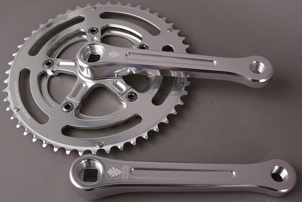 IRD Defiant Aluminum Double Crankset 165mm 50/34 8,9,10 Speed