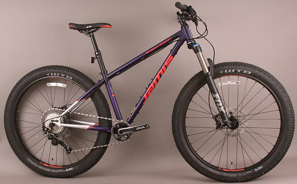 "Jamis Dragonslayer Mid-Fat 27.5"" 650b Tubeless Mountain Bike 15"""