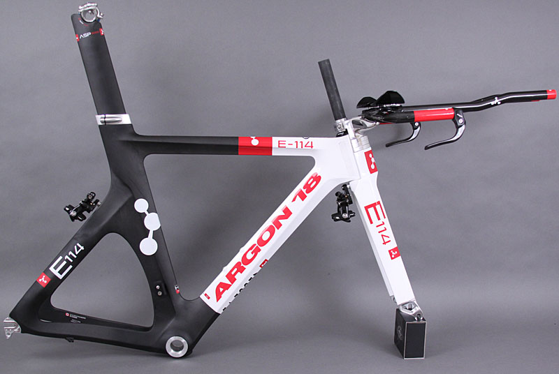 Argon 18 E-114 Time Trial Frame Fork Seatpost Headset SM
