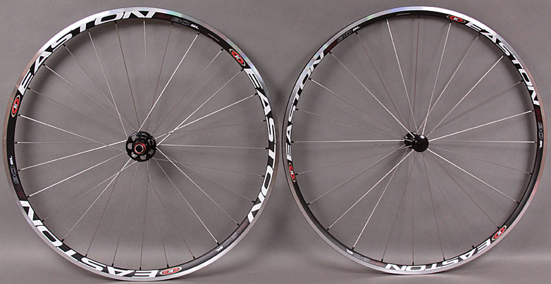 2011 Easton EA90 SL Road Bike Wheelset 1530 grams