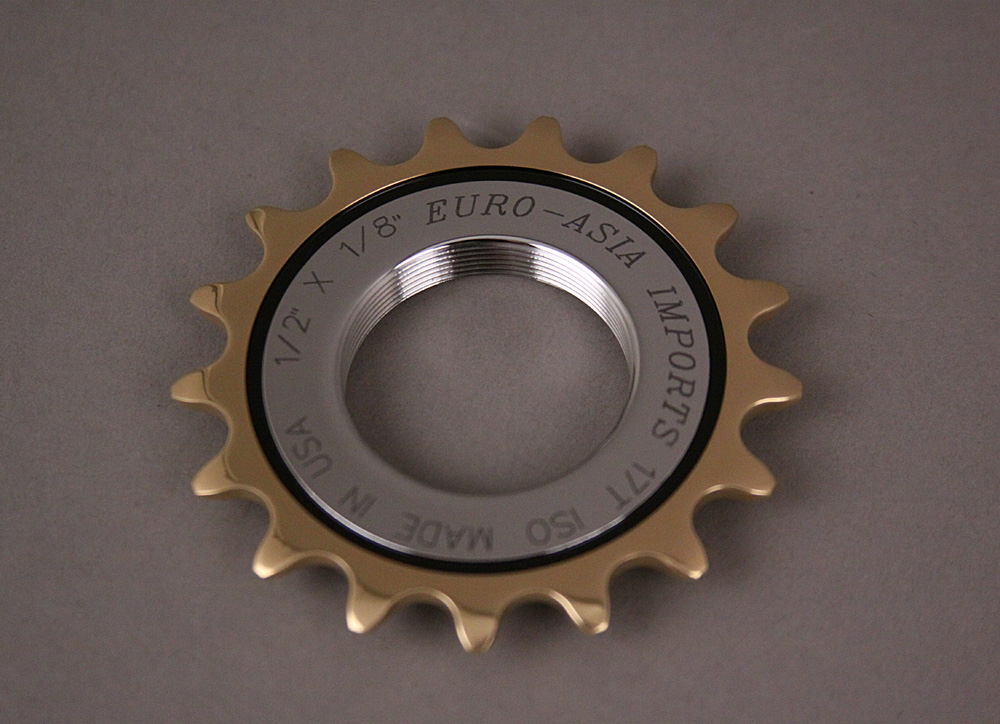 EAI Gold Medal Pro Track Bicycle Cog 17 Tooth