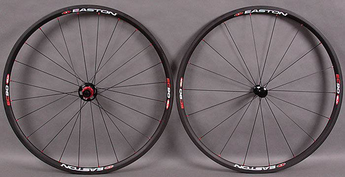 Easton EC90 SLX Tubular Wheelset 1127 grams 2010 Closeout!