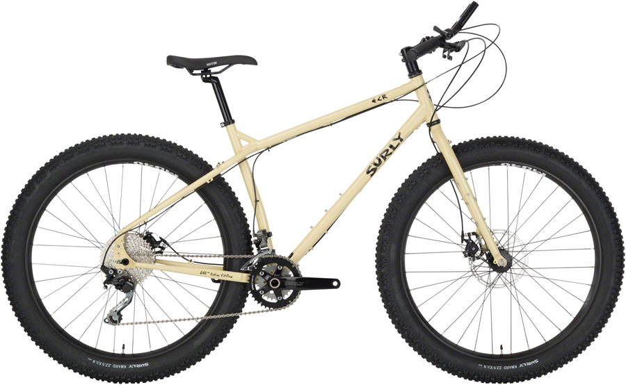 "Surly ECR Off Road Touring Bike 27.5"" Steel Beige Pantsuit XS"