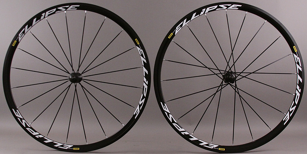 Mavic Ellipse Clincher Track Bike Wheelset 20 Hole Ft/Rr Fix/Fix