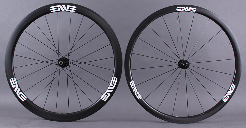 "Enve SES 3.4 Carbon Tubular Wheelset DT 240 Hubs ""Second"""