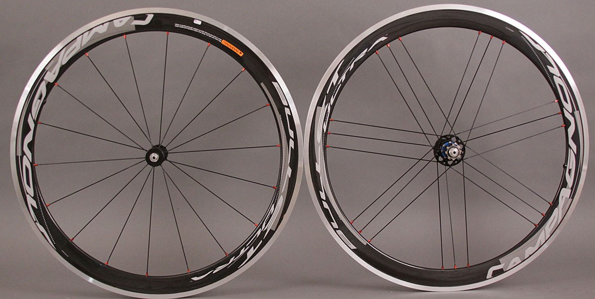 2012 Campagnolo Bullet Ultra 50 Dark Label Wheelset
