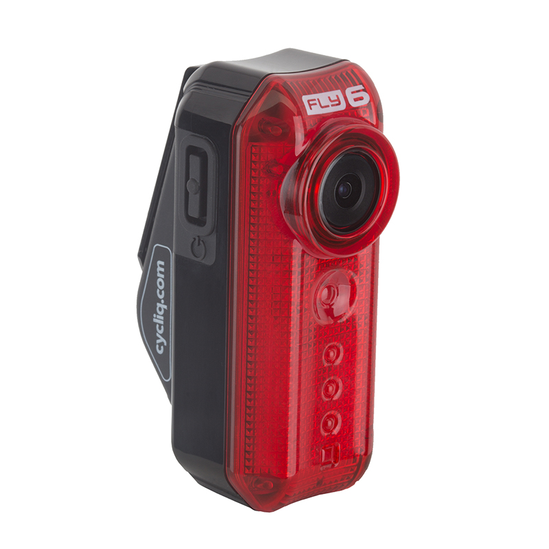 Cycliq Fly6 Cycling Camera Taillight 1280 x 720 HD video W/audio