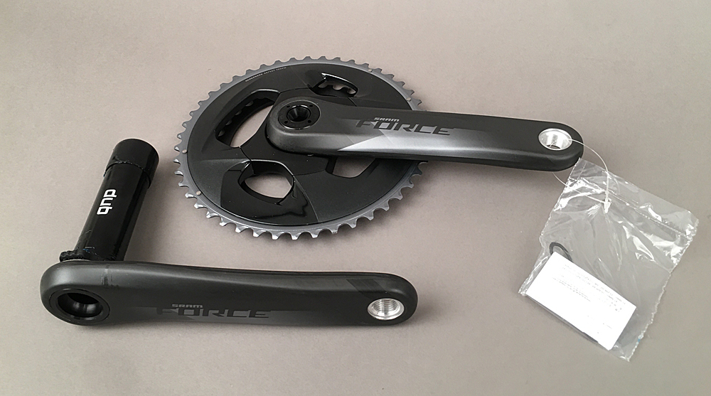 SRAM Force AXS Crankset 172.5mm 12-Speed 46/33t DUB Carbon