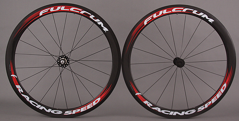 Fulcrum Racing Speed Carbon Tubular Wheelset Shimano SRAM