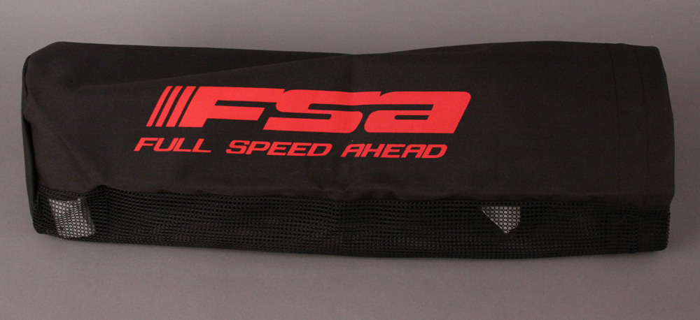 FSA Handlebar or Accessory Bag Black With Red Logo