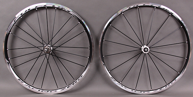 Fulcrum Racing Zero 0 Black & White Tubular Wheelset for Sewups