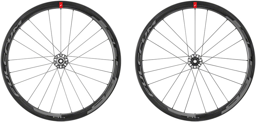 Fulcrum Speed 40 CL Disc Brake Carbon Tubeless Road Bike Wheels