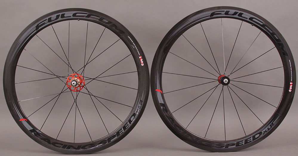 New Fulcrum Racing Speed XLR Dark Label Carbon Tubular Wheels