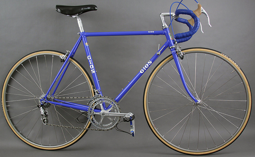 Gios Vintage Steel Road Bike Campagnolo Super Record 54cm