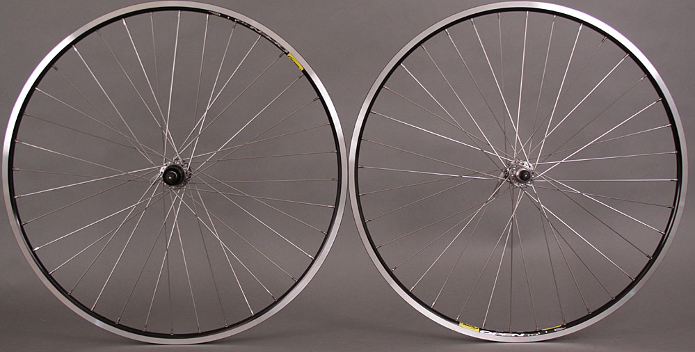 Mavic Open Pro Black Rims Shimano 105 5800 Hubs Road Wheelset 36