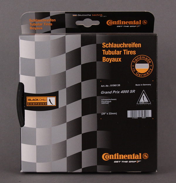 Continental GP4000 SR 4000s 700x22 BLACK Tubular TIRE