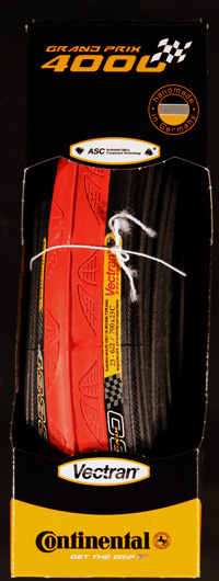 Continental GP4000 700x23 RED TIRE folding FREE SHIPPING