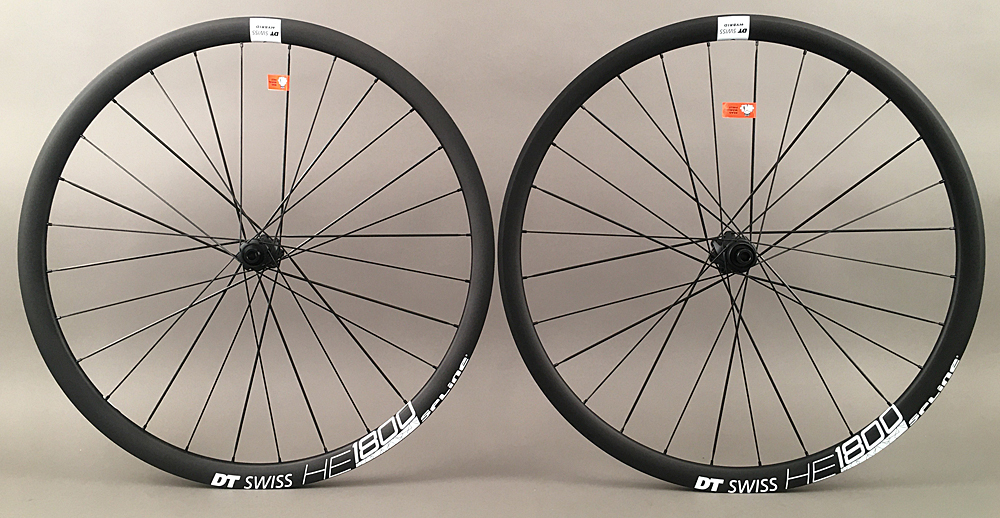 DT Swiss HE 1800 E Road CX Gravel Disc Wheelset Fits Shimano