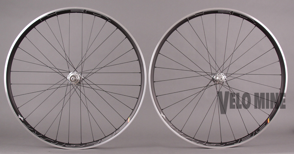 HED BELGIUM + PLUS Wheelset Chris King R45 Silver Hubs 28f 32r