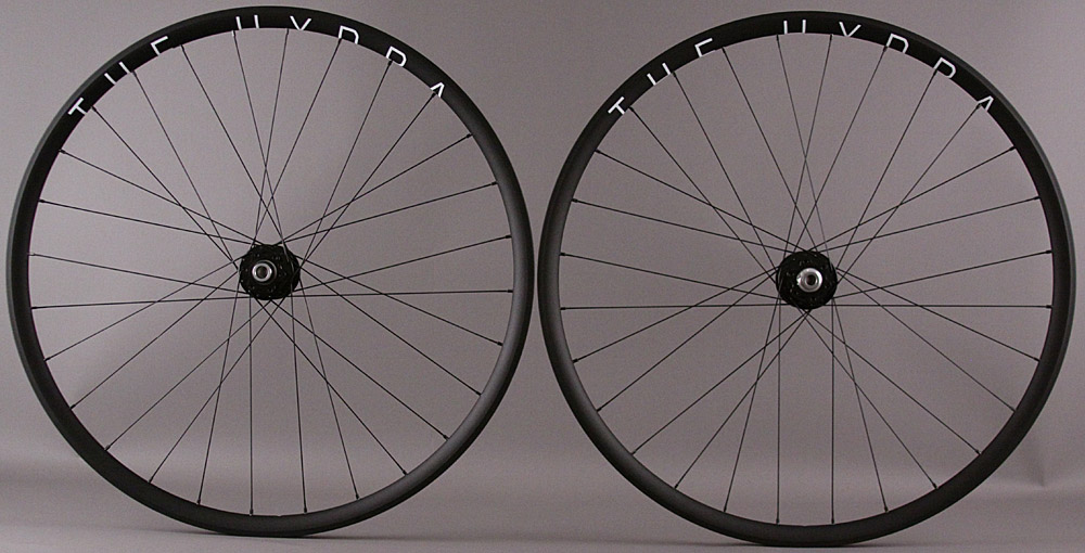 H Plus Son Hydra Tubeless Wheels Chris King Thru Axle 11sp Hubs