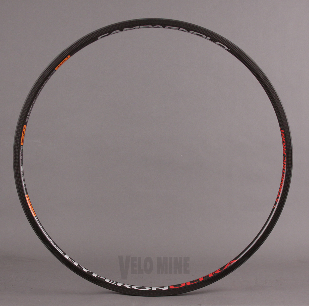 Campagnolo Hyperon Ultra Carbon Clincher 22 Hole Front Rim