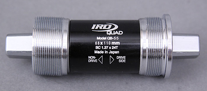IRD Bottom Bracket Fits Track Pista Crankset 68x110 mm English