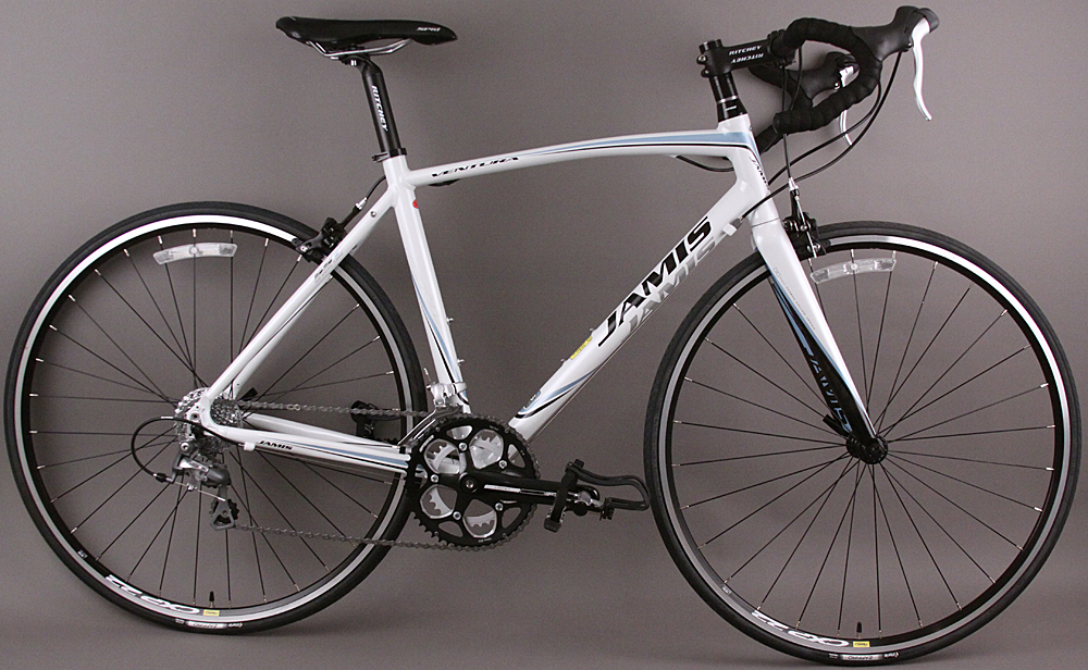 Jamis Ventura Comp Road Bike Shimano STI 9 Speed 54cm Blue White