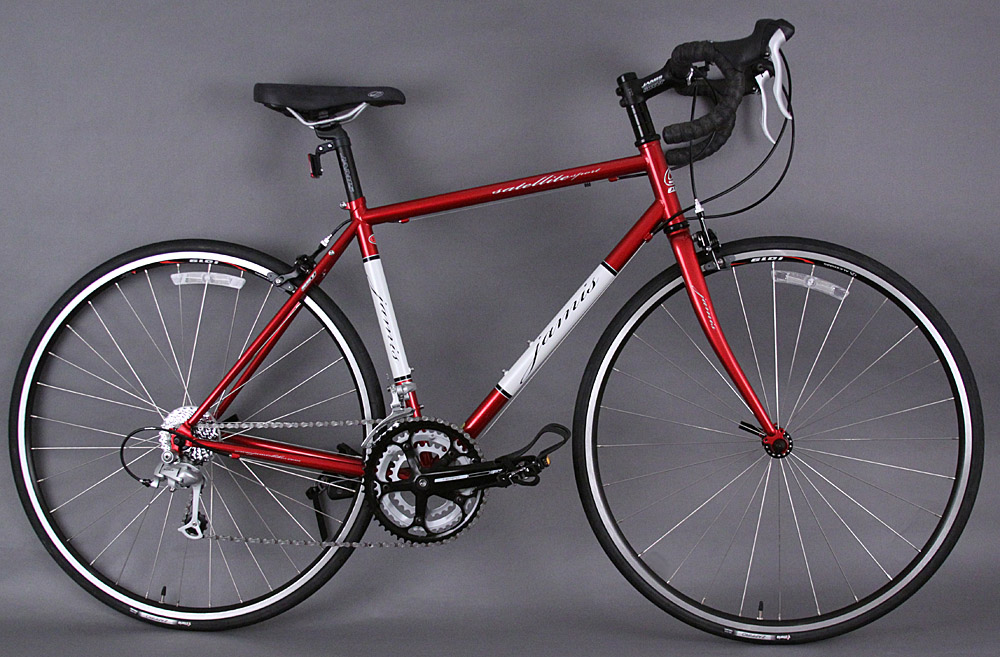 Jamis Satellite Sport Steel Road Bike Triple Crankset 51cm Red