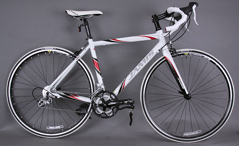 Jamis Ventura Comp Road Bike Shimano STI 9 Speed 51cm Red White