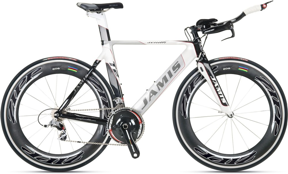 New 2009 Jamis Xenith T2 Time Trial Bike Zipp 808 SRAM Red Med