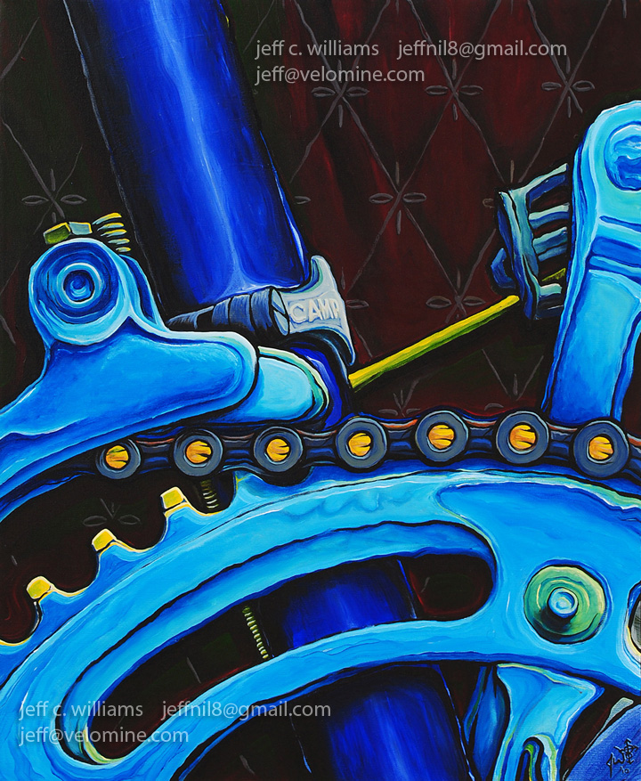 Bike Paintings Jeff C Williams