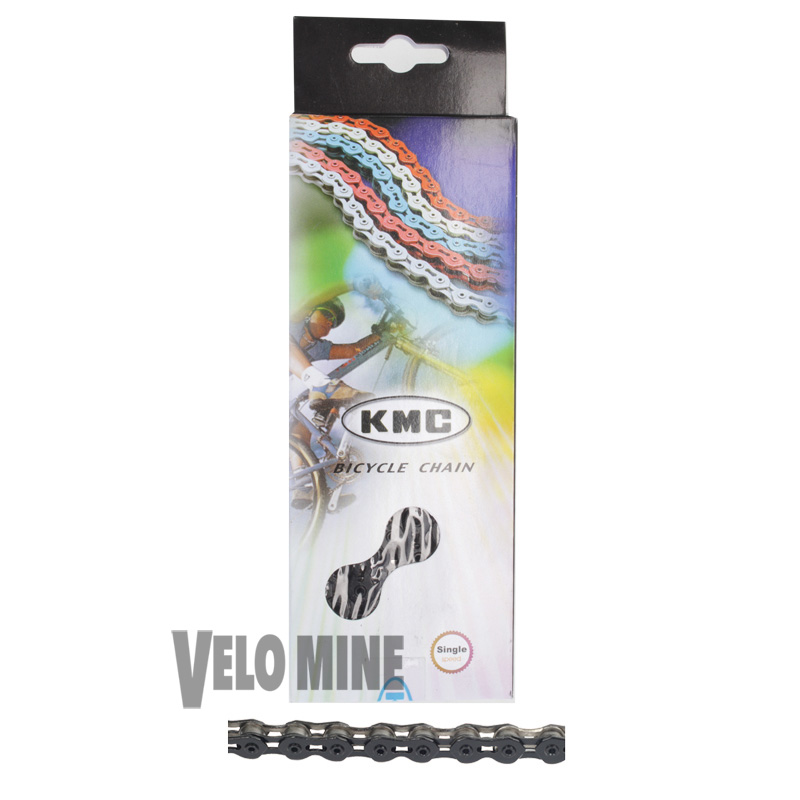 KMC K710SL SuperLite BLACK Track chain 1/2 X 1/8 100 links