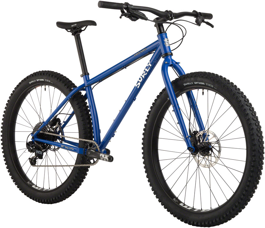 "Surly Karate Monkey Bike 27.5"" Steel Blue Porta Potty Medium"