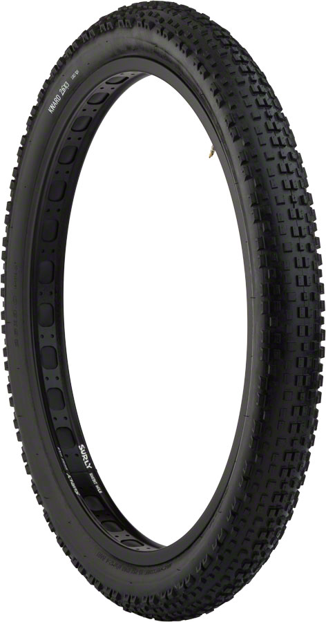 Surly Knard Fat Bike Tire 26 x 3 Clincher Folding 120tpi