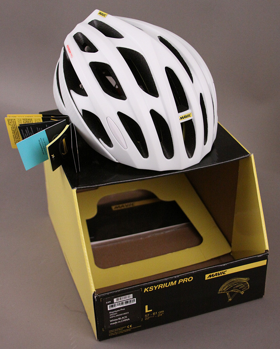 Mavic Ksyrium Pro Road Gravel Racing Bicycle Helmet Large