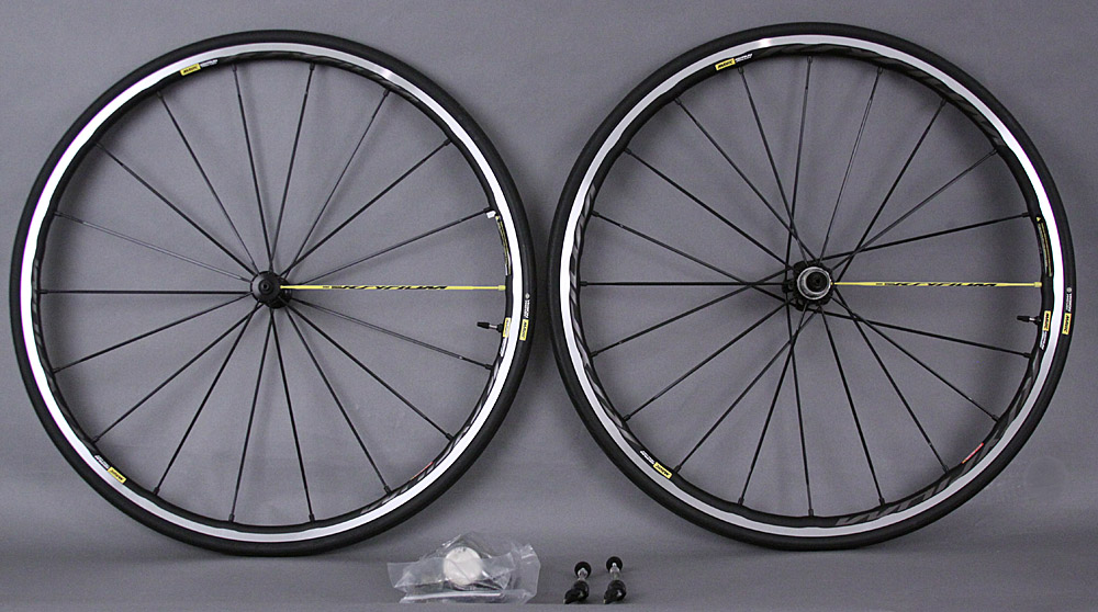 Mavic Ksyrium Pro Ust C Clincher Road Bike Wheelset & Tires