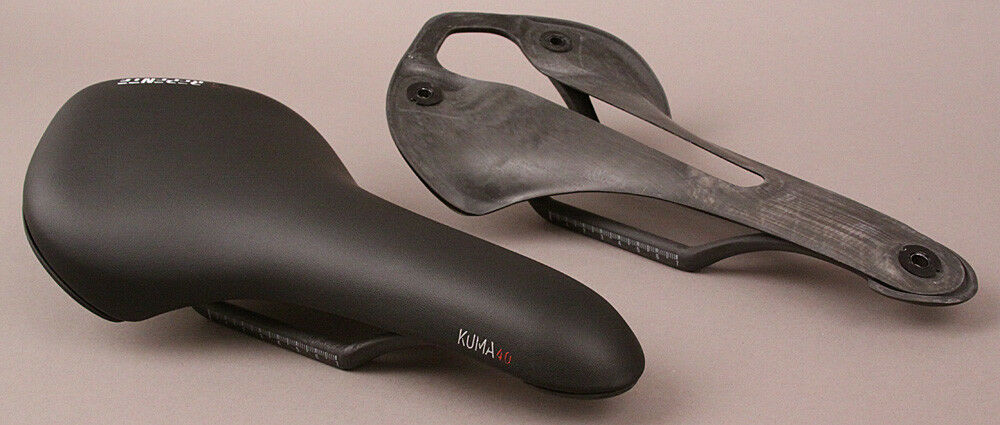Repente Italian Road Bike Carbon Saddle Kuma 4.0 All Black