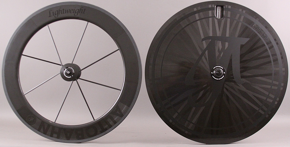 Lightweight Autobahn Carbon Tubular Time Trial Tri Wheelset