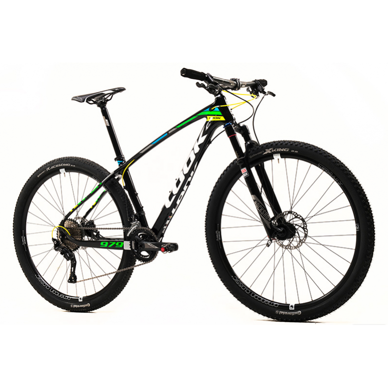 Look 979 AM Classic XT Black-Fluo Yellow/Green Mountain Bike LG